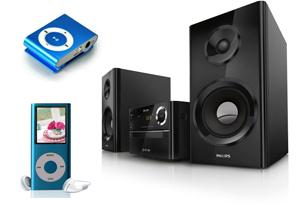Muusikakeskused ja MP3 +